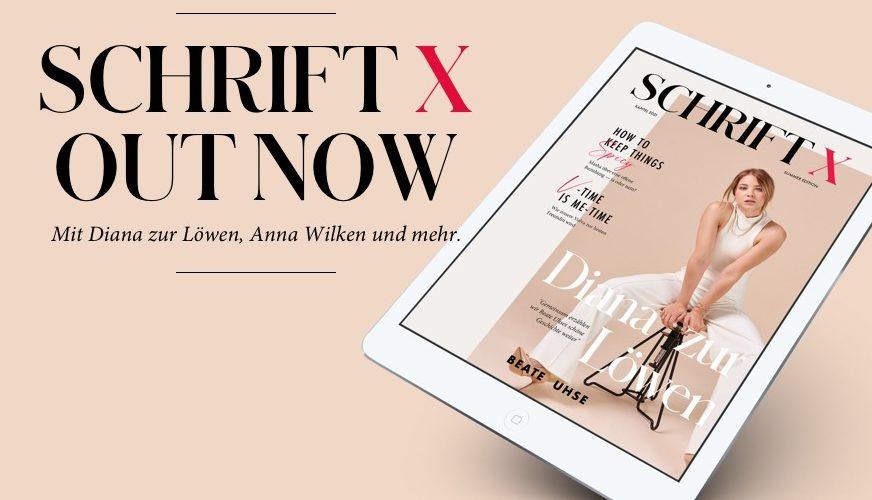 Schrift X: FSG's first magazine